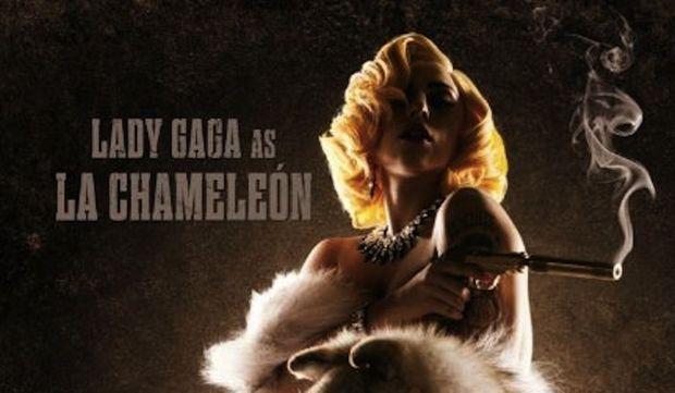Lady GaGa affiche Machete-