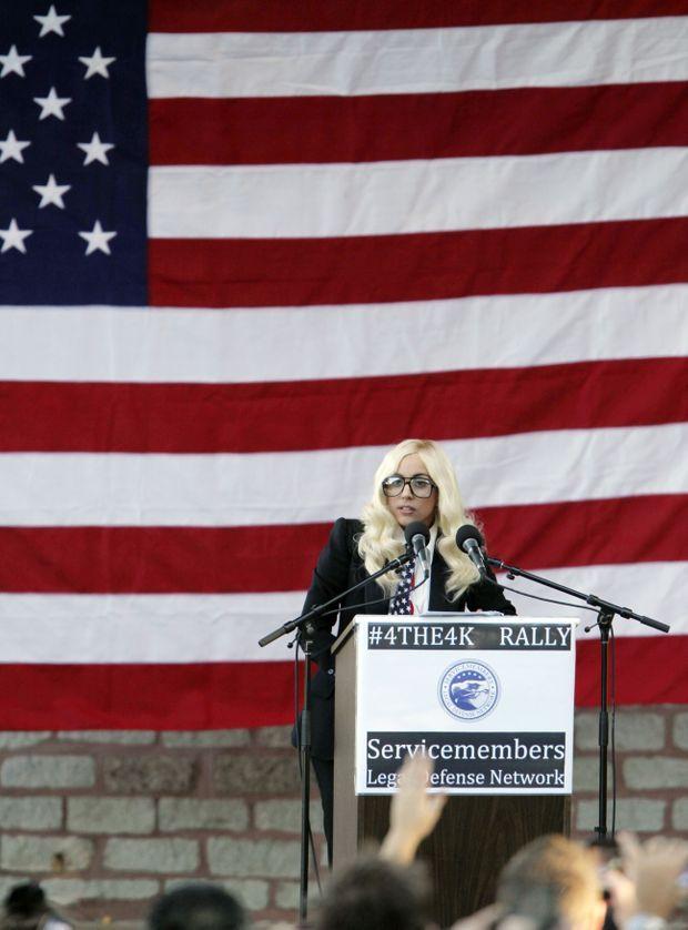 Lady Gaga politique-