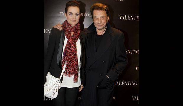 Laeticia et Johnny-