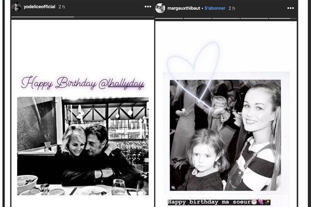 Maxim Nucci et Margaux Thibaut fête l'anniversaire de Laeticia Hallyday