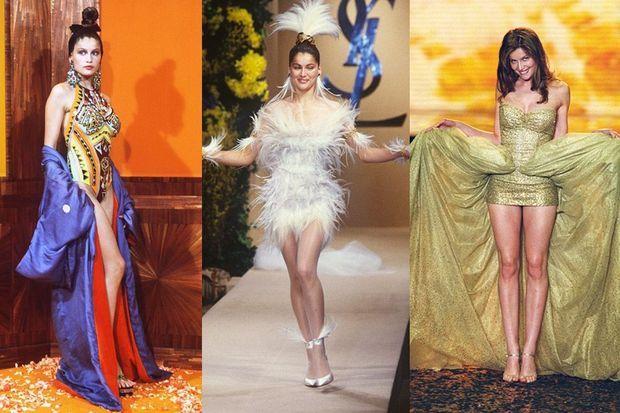 Laetitia Casta a défilé pour Jean Paul Gaultier, Yves Saint Laurent et Victoria's Secret notamment