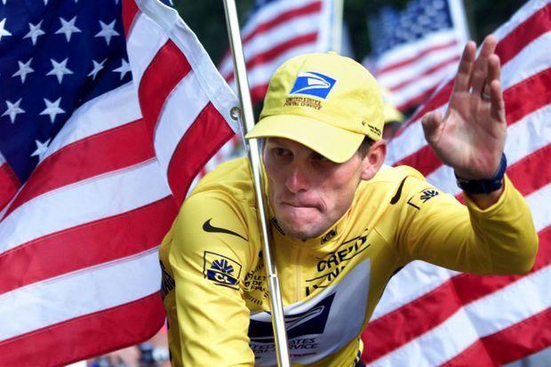 Lance Armstrong en 2000, gagne le Tour de France
