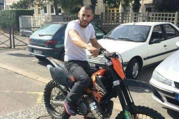 Larossi Abballa, meurtrier présumé d'un policier et sa compagne