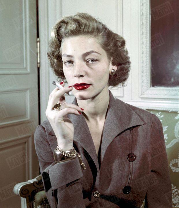 Lauren Bacall, pour Paris Match, 1951