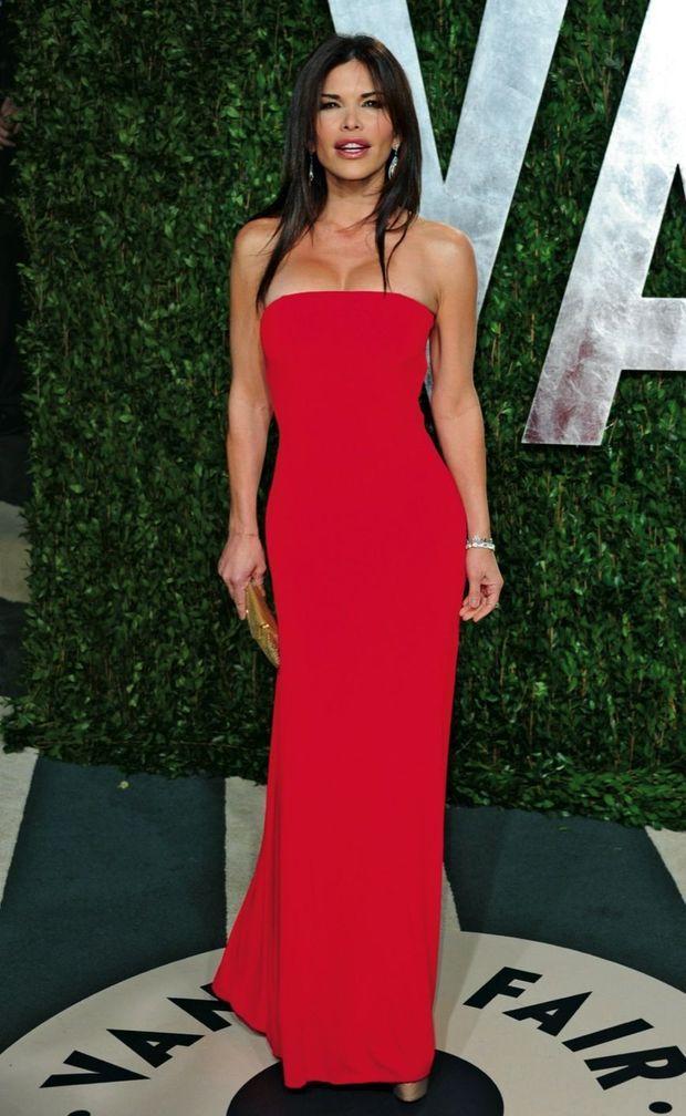 La pulpeuse ancienne animatrice de télévision Lauren Sanchez à la cérémonie des Oscars, en 2012.