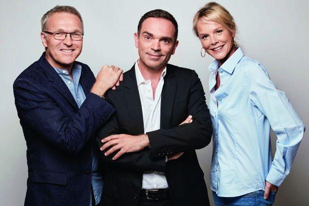 Laurent Ruquier, Yann Moix, Vanessa Burggraf