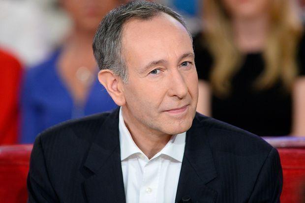 """Laurent Bazin, sur le plateau de """"Vivement dimanche"""" en 2015."""