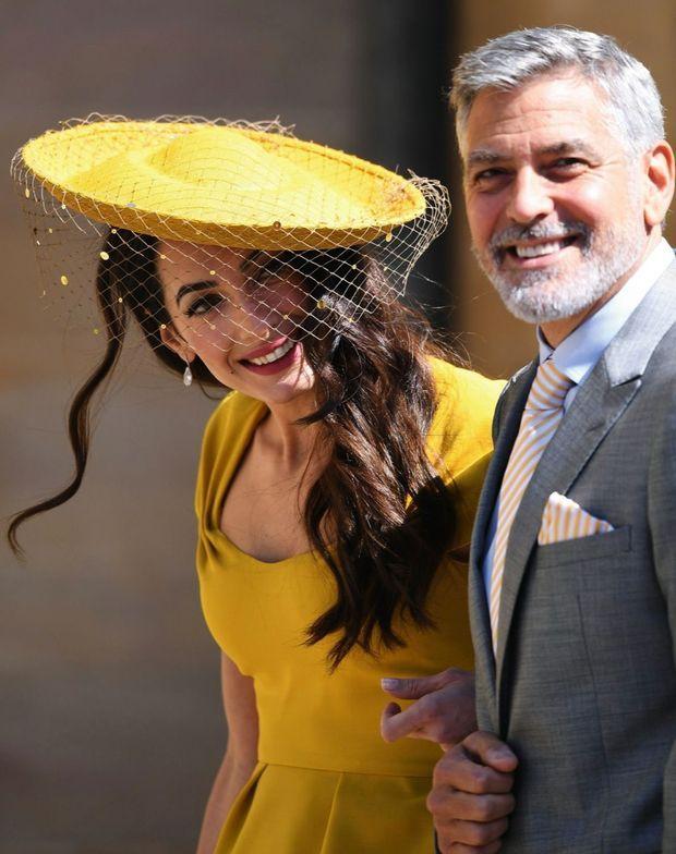 Le 19 mai 2018, à Windsor au mariage de Harry et Meghan.