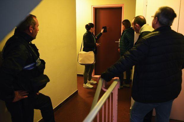 Le 25 septembre, à Montivilliers. Perquisition au domicile de l'auteur supposé du rodéo à la Kawasaki verte.