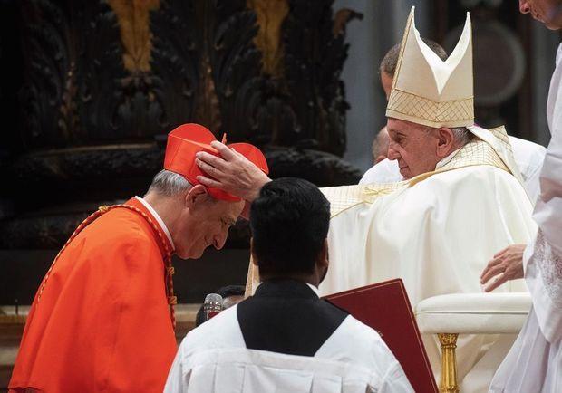 Le 5 octobre 2019, au Vatican, il devient l'un des 13 cardinaux créés ce jour-là par le Pape.