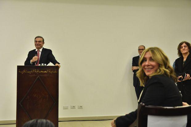 Le 8 janvier 2020, il retrouve son entière liberté de parole : première conférence de presse au Liban.