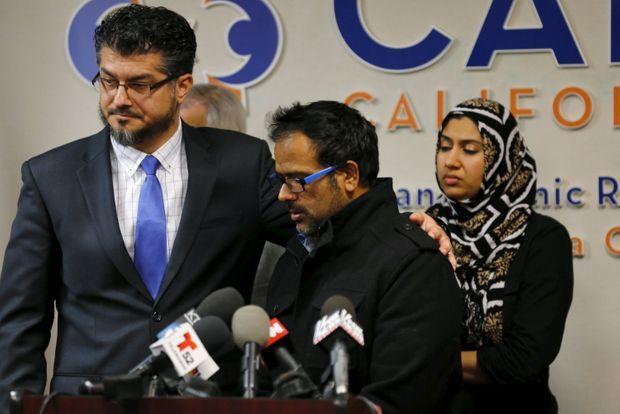 Le beau-frère du suspect a donné une conférence de presse