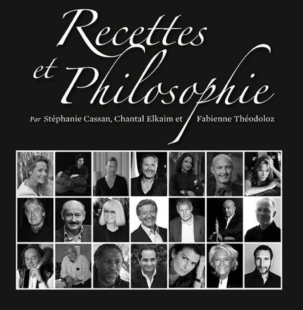 Le beau livre sur des « Recettes » et leur « Philosophie ».