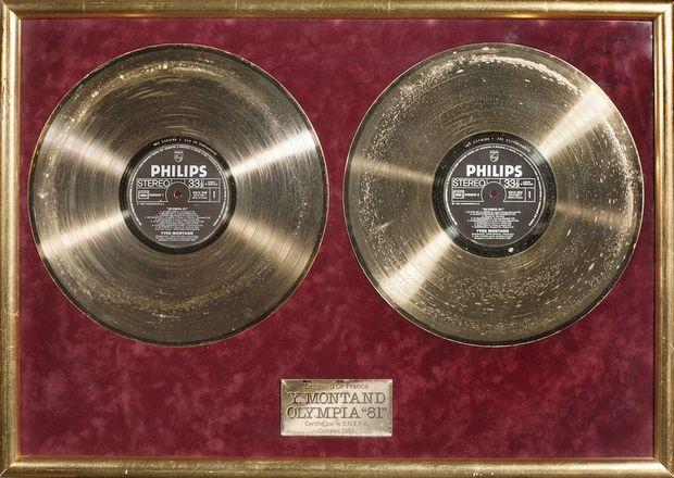 Le disque d'or du