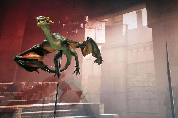 Le dragon de Khaleesi, presque réel