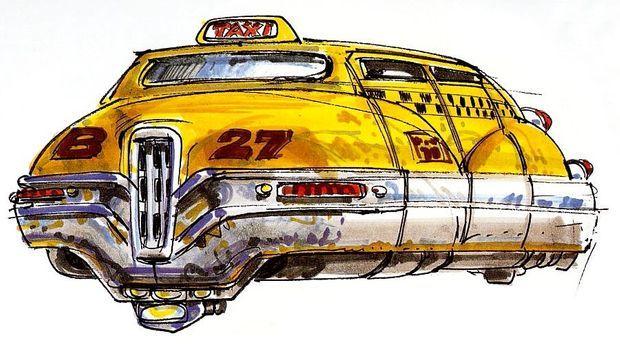Le duo Mézières-Christin avait imaginé des taxis volants