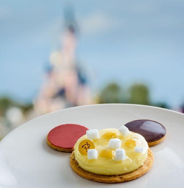 Le gâteau de Pierre Hermé pour l'anniversaire de Mickey.