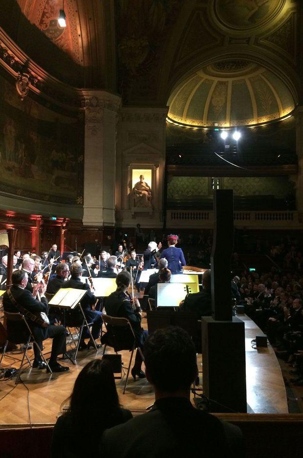 Orchestre symphonique de la Garde Républicaine au grand amphithéâtre de la Sorbonne