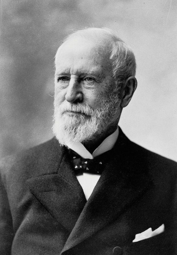 Le bijoutier Charles Lewis Tiffany, fondateur de Tiffany & Co.
