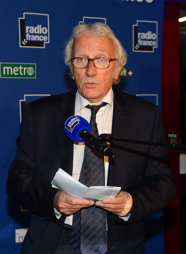 Le journaliste Jacques Vendroux en 2013.