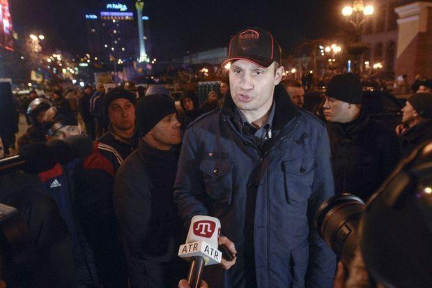 Le leader de l'opposition, Vitali Klitschko.