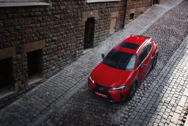 Le Lexus UX devrait bénéficier du système d'exploitation mis au point par IoT.bzh.