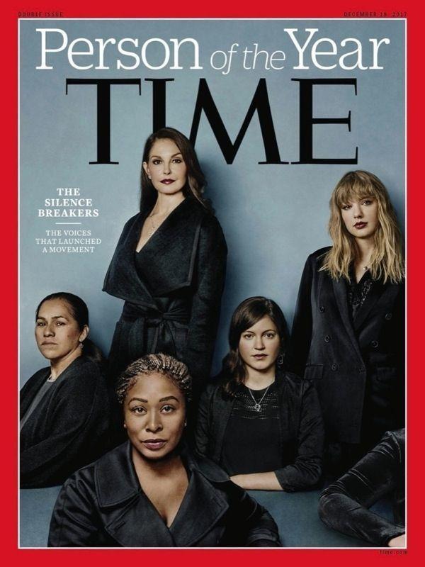 Le magazine « Time » a choisi celles qui ont dénoncé le scandale pour sa couverture sur les personnalités de l'année 2017