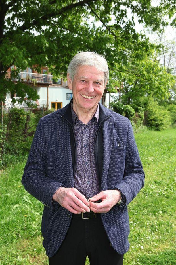 Le maire Jean-Claude Mensch