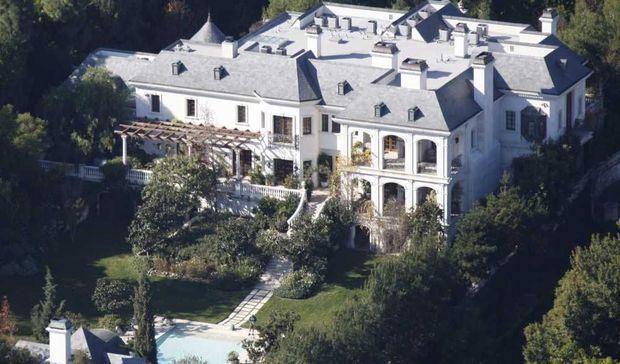 le manoire de Los Angeles de Michael Jackson-