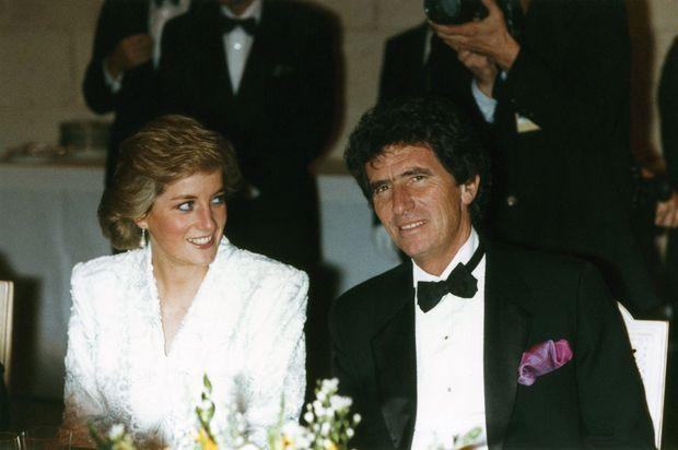 Le ministre de la Culture reçoit lady Di au château de Chambord en novembre 1988.