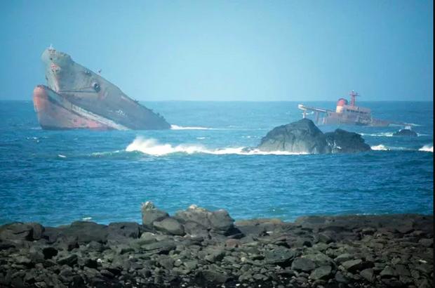 Le naufrage de l'Amoco Cadiz.
