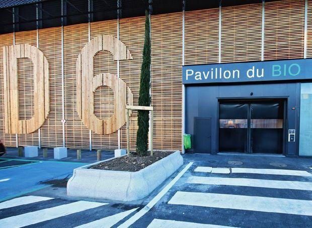 Le pavillon bio D6 de Rungis