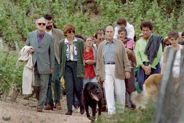 Le pèlerinage à Solutré le 30 mai 1993