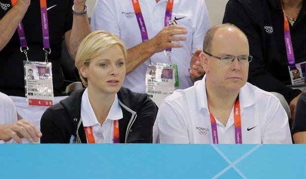 Le prince Albert II de Monaco et la princesse Charlene-