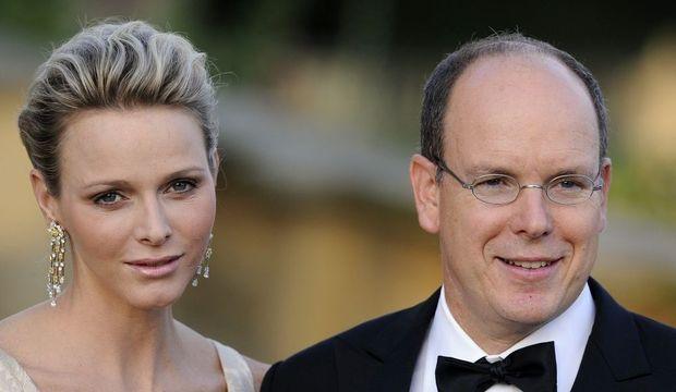 Le prince Albert II de Monaco et son épouse Charlene-