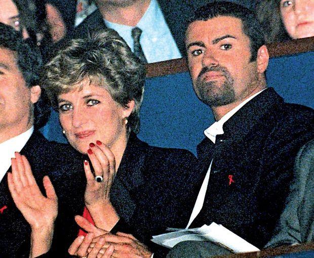 Le prince du hit-parade et la princesse du peuple, en 1994.