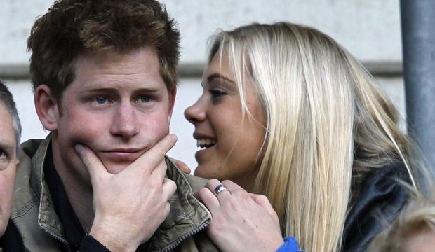 Le prince Harry et Chelsy Davy-