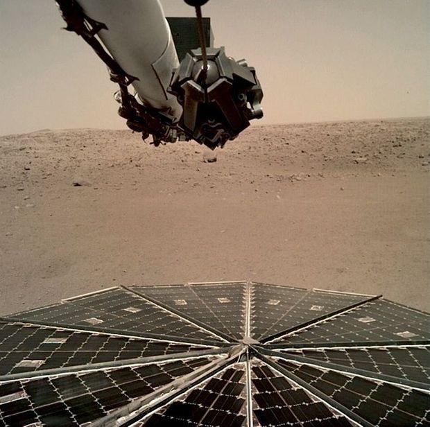 Il y a quelques semaines, le sismographe SEIS a détecté le premier tremblement de terre sur Mars.
