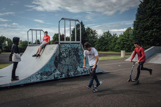 Le skatepark, conçu en impliquant les jeunes pratiquants