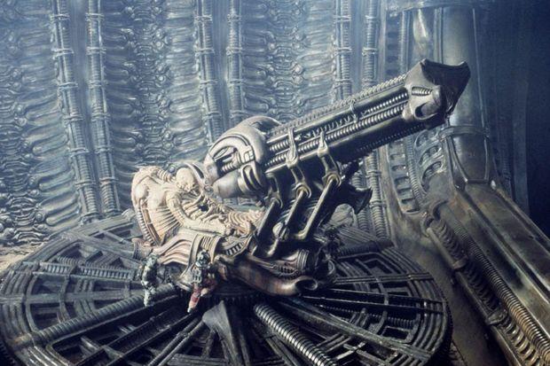 Le «Space Jockey» d'«Alien».