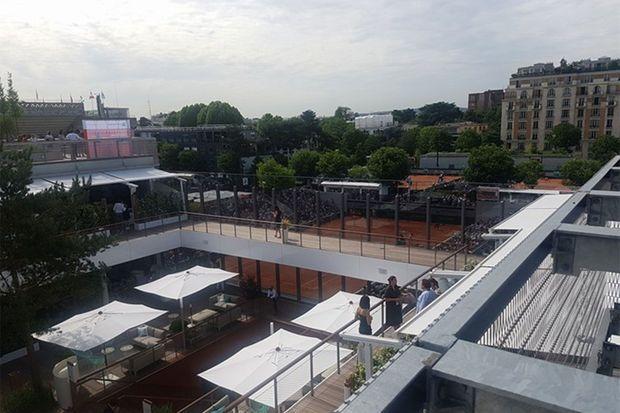 Le village de Roland-Garros a été entièrement refait.