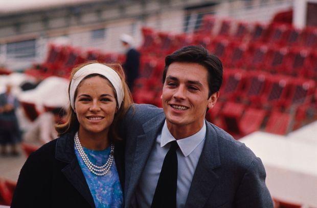 Le voyage de noces sur le « France », en août 1964. Nathalie attend un fils, elle accouchera à Los Angeles.