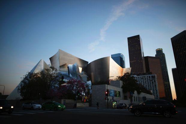 Le Walt Disney Concert Hall, à Los Angeles.