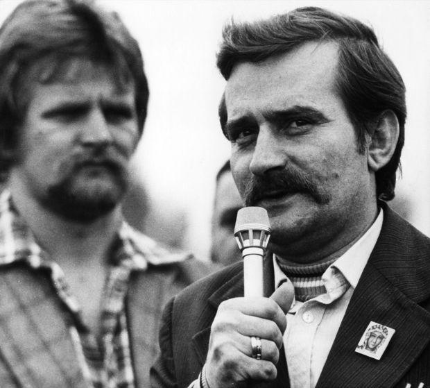 Lech Walesa en 1980.
