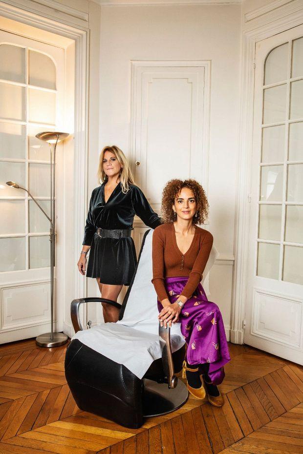 Leïla Slimani et Déborah-Eve Seroussi