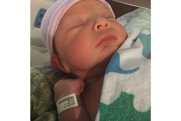 Leo, le fils de Trystan et Biff, est né le 14 juillet.