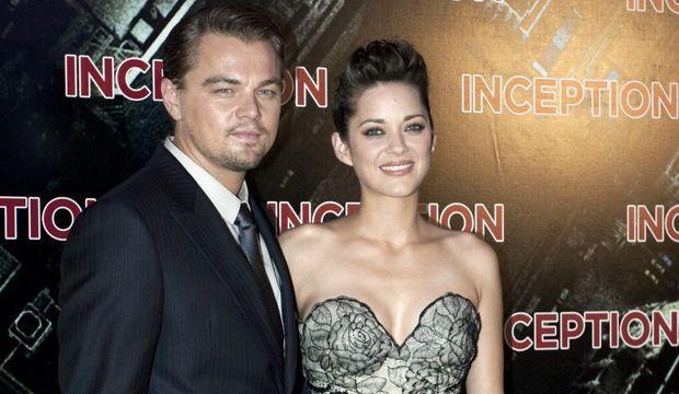 Leonardo DiCaprio Marion Cotillard Inception-