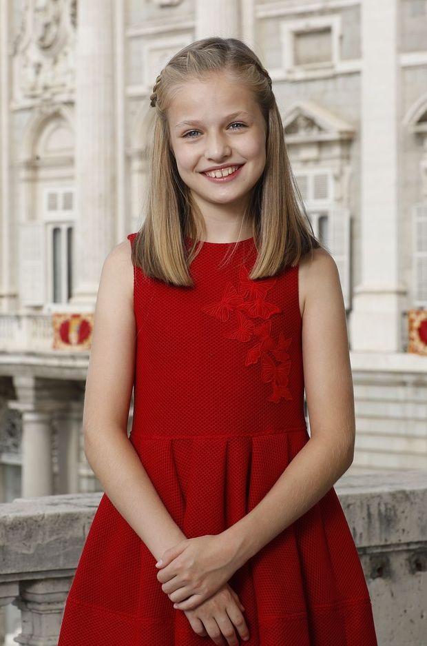La princesse Leonor d'Espagne a 12 ans.