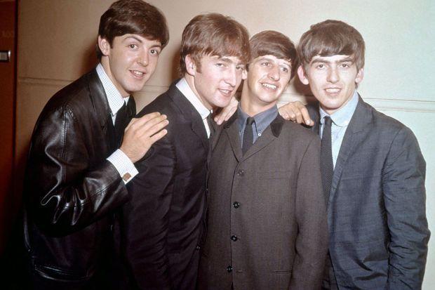 Les Beatles, en 1964.