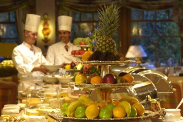 Les fruits délicieux s'y dégustent comme les plats étoilés.